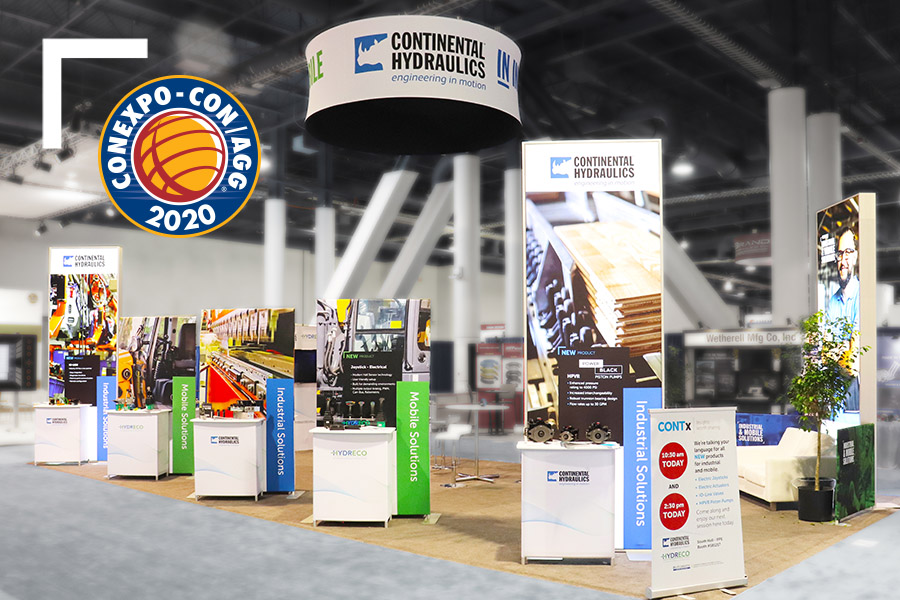 Continental Hydraulics Con Expo Displays