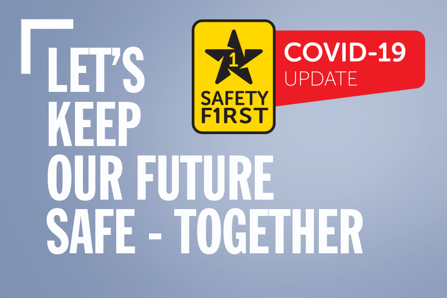 Spring To Action – Safety First – COVID-19