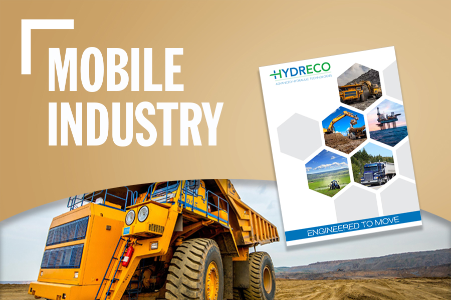 Mobile Industry Banner With Dump Truck Background