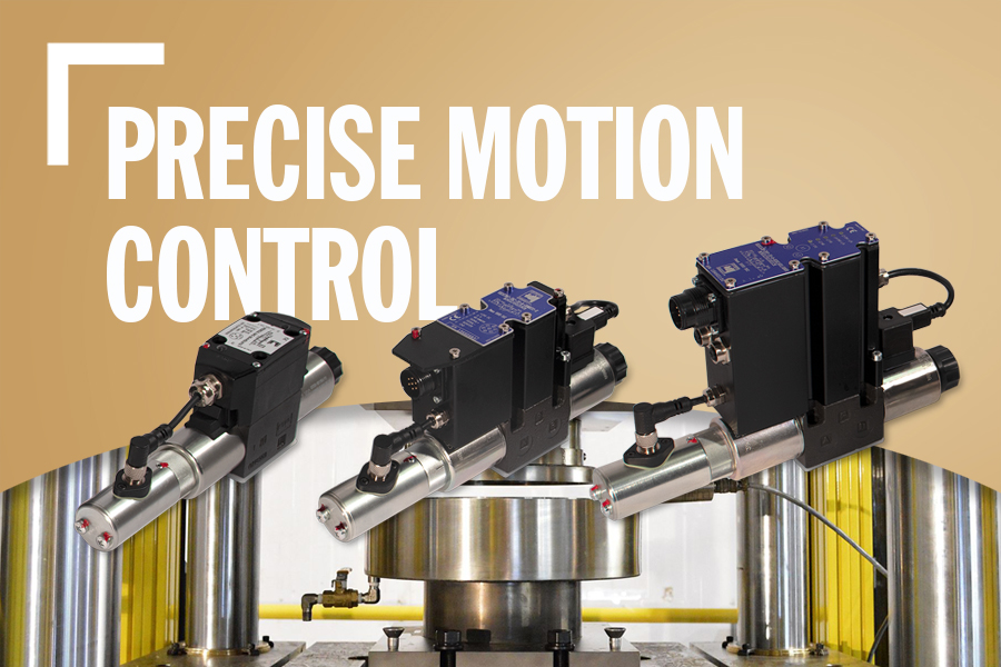 Precise Motion Control Banner With Product Image, Background Image, And Text