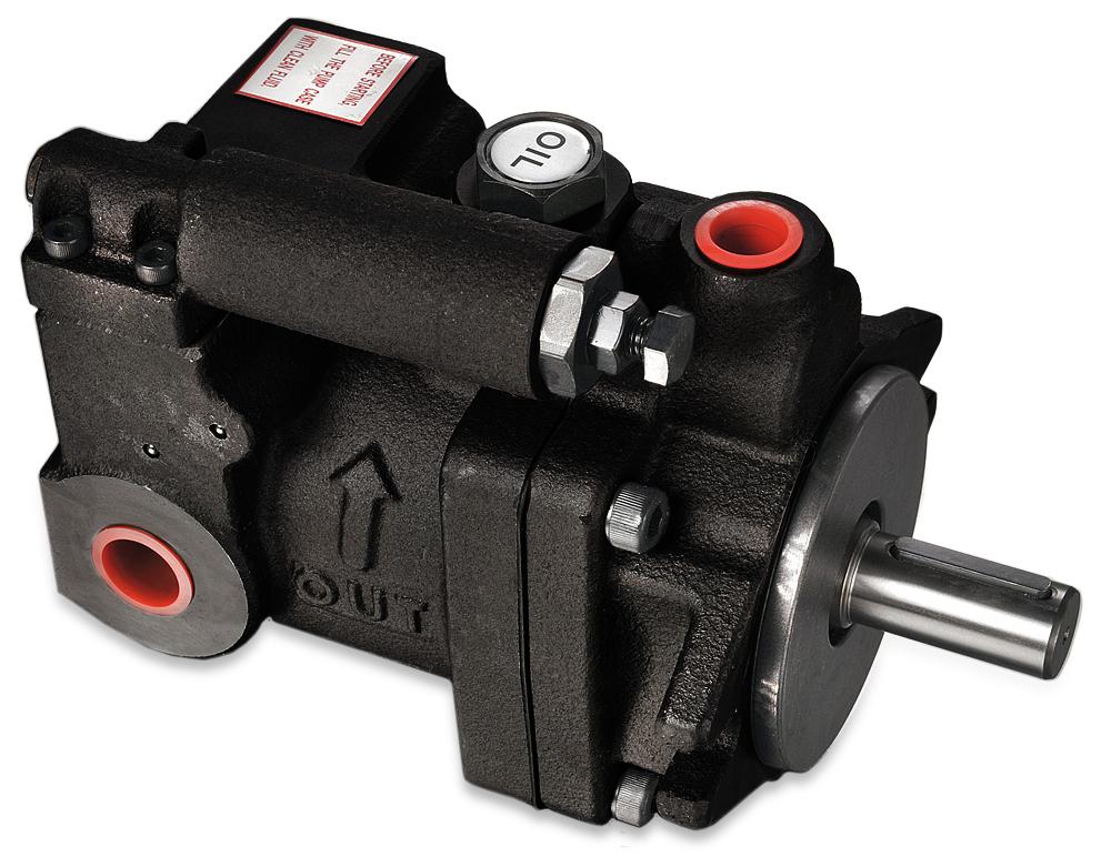 LPV4 hydraulic pump; white background