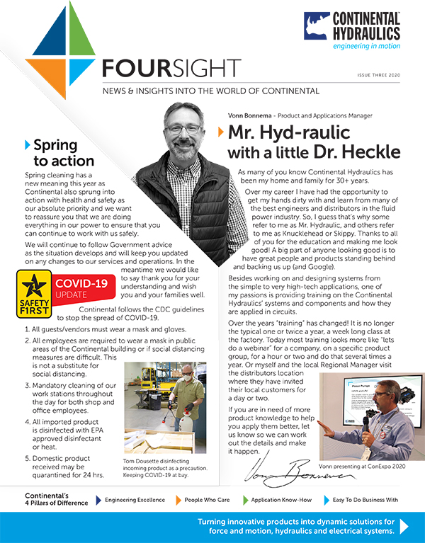 2020 April newsletter cover