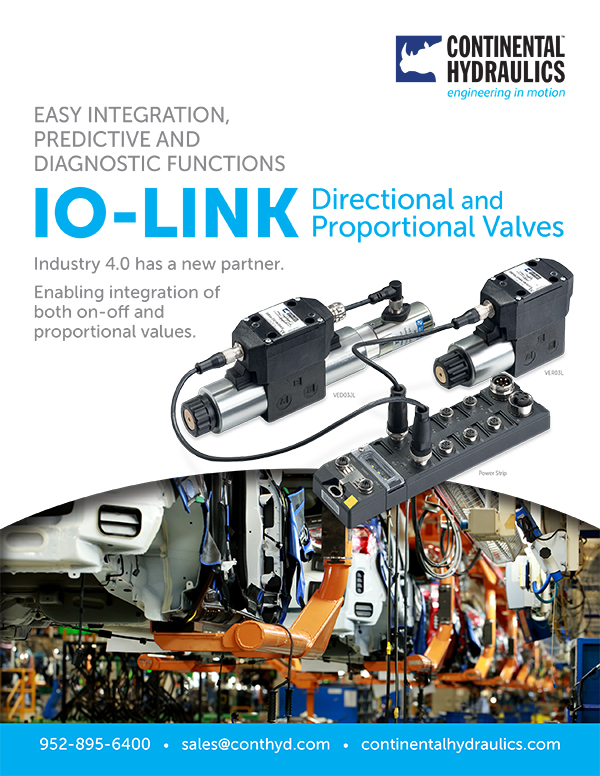 IO-Link Brochure cover; branded