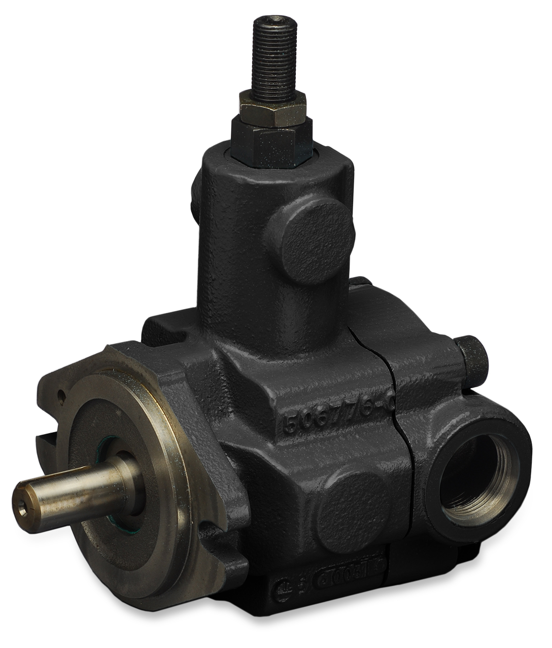 PVR6 hydraulic pump product; white background