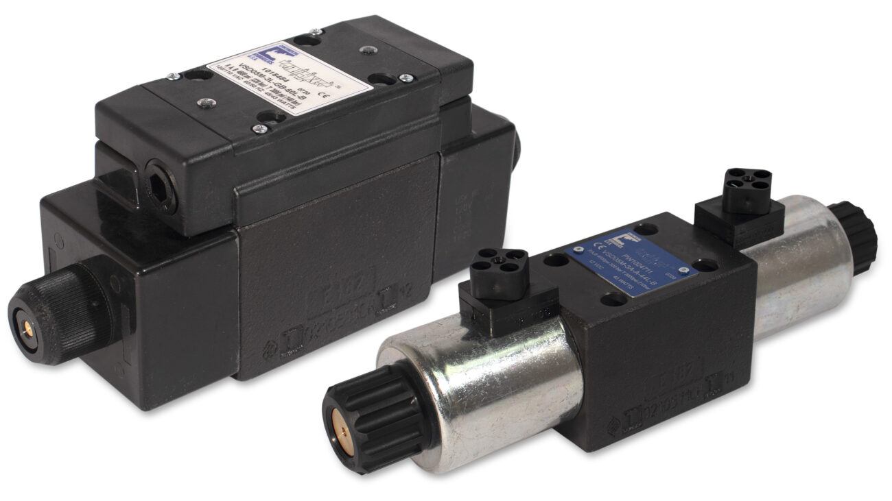 VSD05M direct operated solenoid valve products; white background