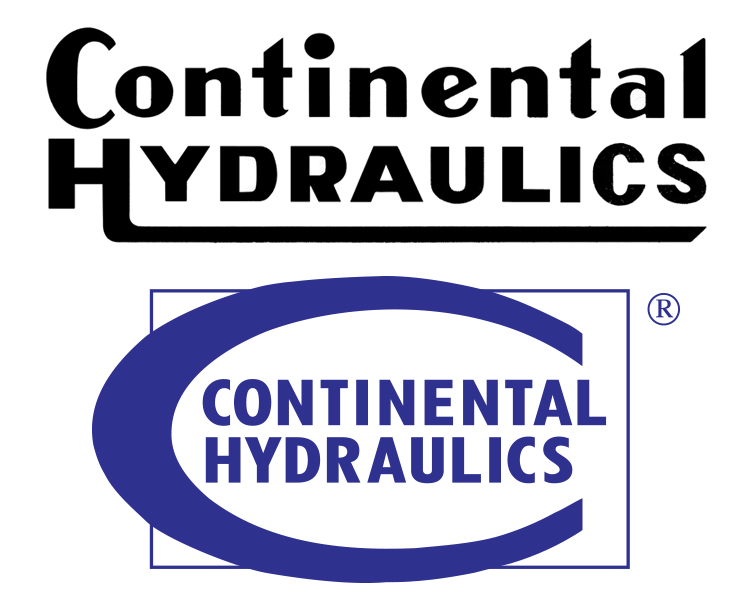 Continental Hydraulics 1962 logo; white background