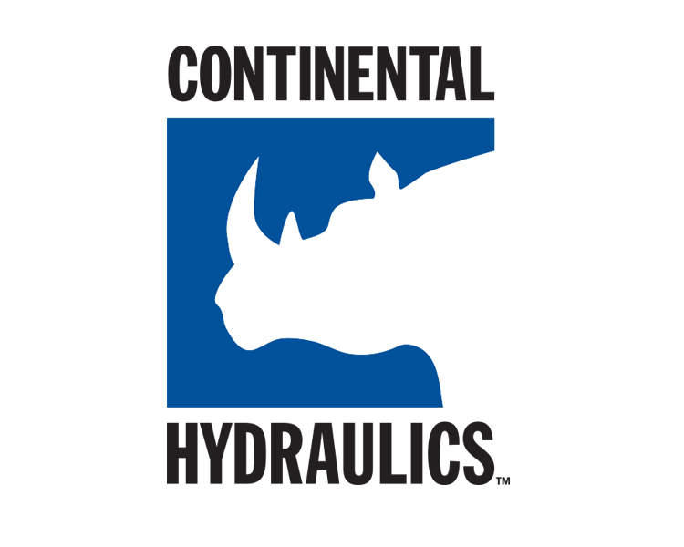 Continental Hydraulics logo 2; white background