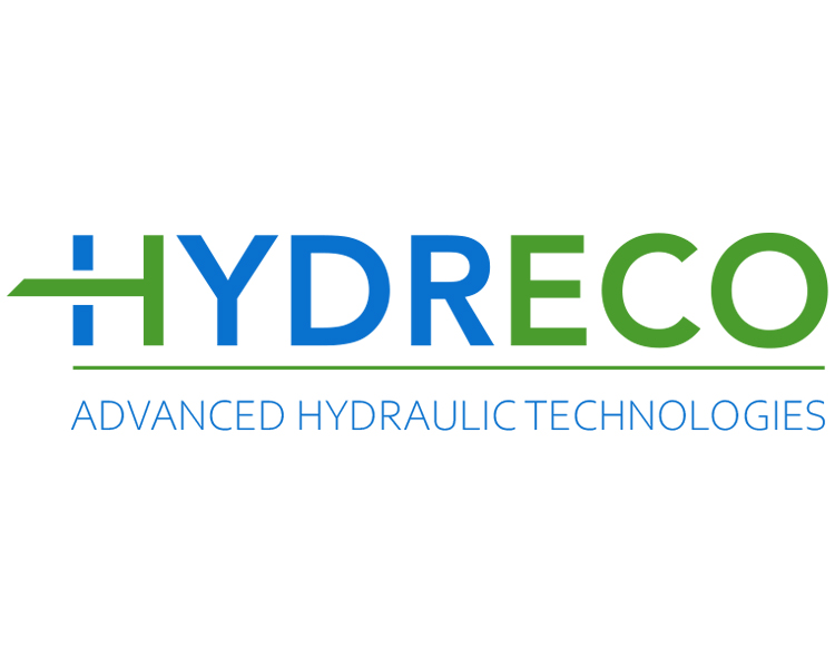 Hydreco logo with tagline; white background