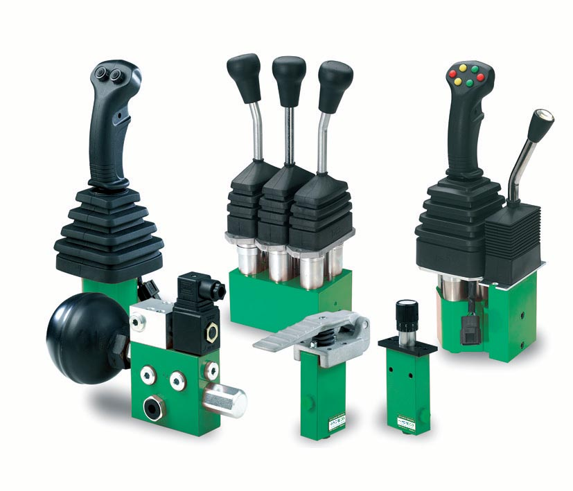 Joysticks and control products for agriculture
