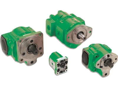 Gear pump products white background