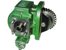 Transportation gear pump product white background