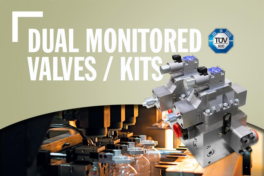 Dual Monitored Valves / Kits
