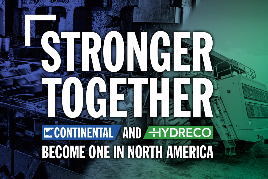 Continental Hydraulics And Hydreco Inc. Announce The Merge Of Our North American Operations
