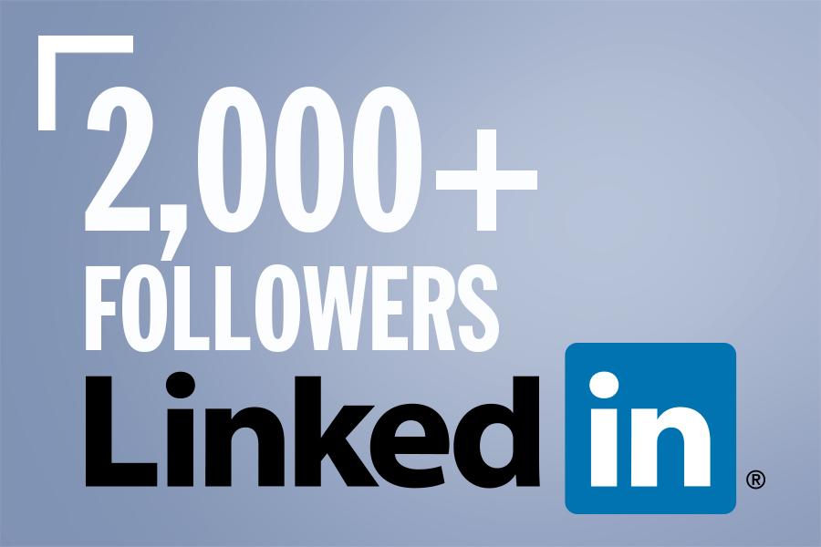 2000+ LinkedIn Followers