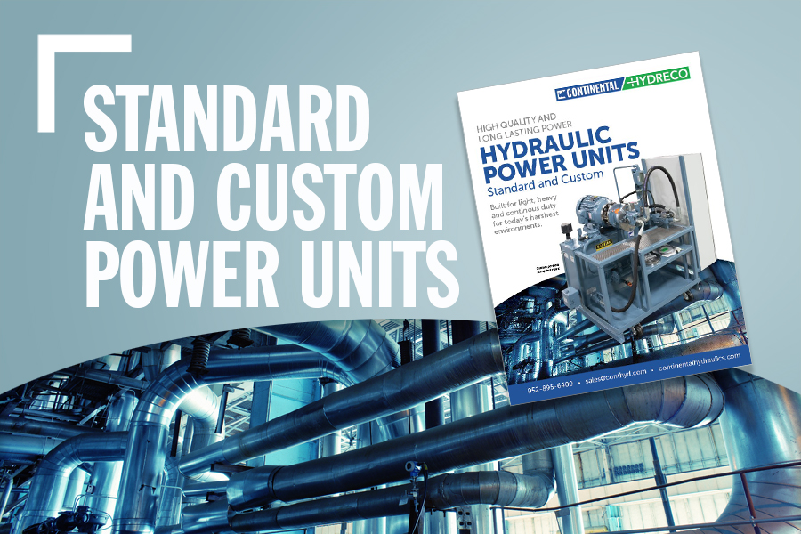 Standard And Custom Hydraulic Power Units