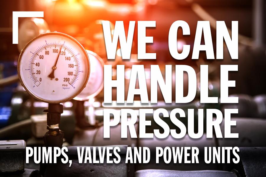 We Can Handle Pressure!