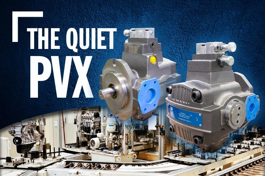 PVX Vane Pumps Are Quiet.