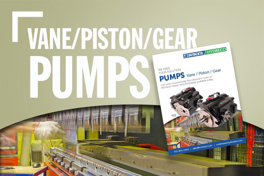 Pumps – Vane / Piston / Gear